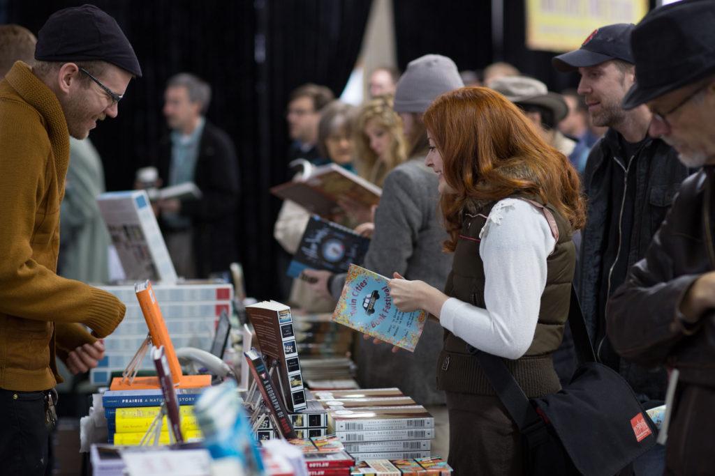 2012 TCBF buying books -photo by Jennifer Simonson
