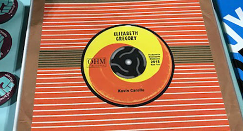 NEW OHM EDITIONS CHAPBOOK--ELIZABETH GREGORY by KEVIN CAROLLO