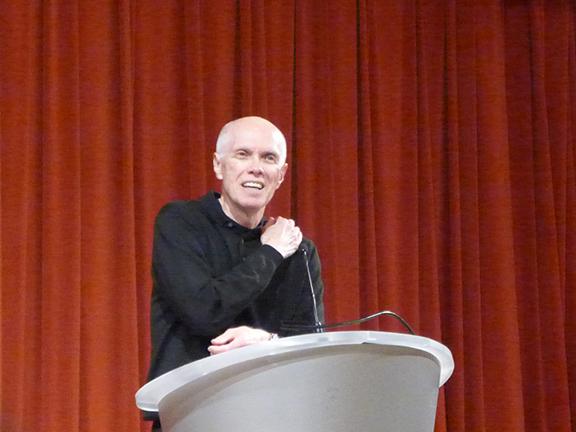 Ron Padgett MPL reading, April 3, 2014
