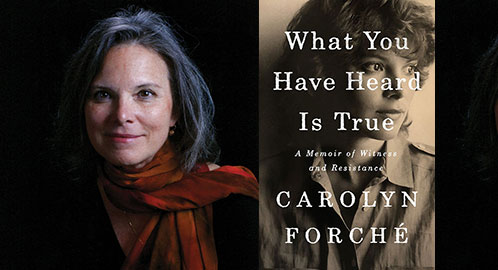 Carolyn Forché in the Twin Cities on April 26!