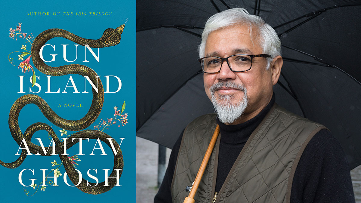 Amitav Ghosh, Sept. 26--FREE!