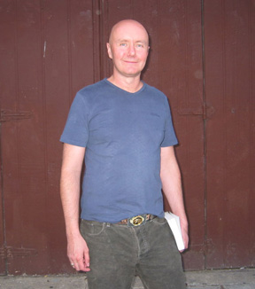 Photo of Irvine Welsh by Eric Lorberer